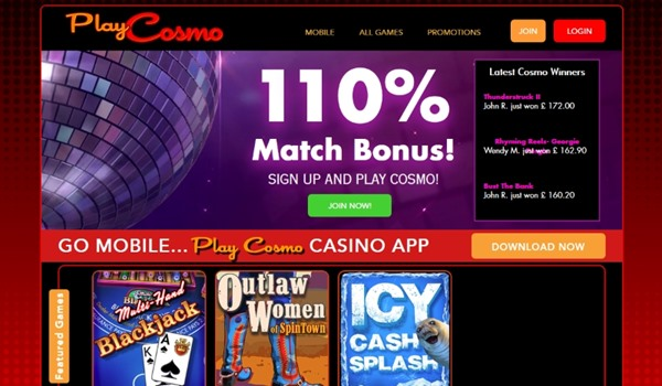 Play Cosmo - The new Online Casino