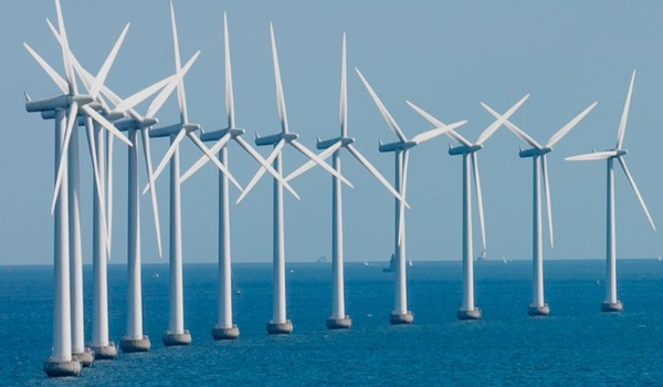 The World's First Floating Wind Farm
