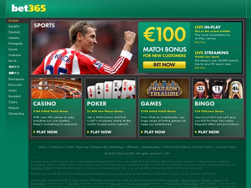 bet website