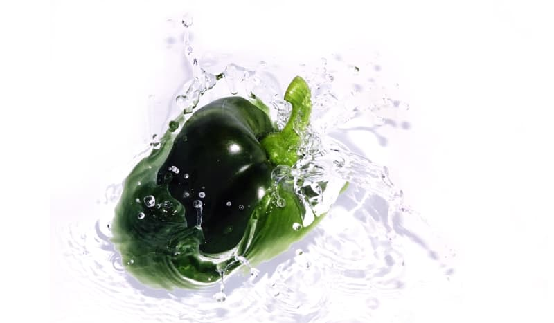 washing pepper